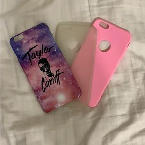 iPhone 6 Plus case trio